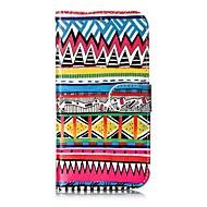 Недорогие Чехлы и кейсы для Galaxy S8-Кейс для Назначение SSamsung Galaxy S8 Plus S8 Бумажник для карт Кошелек со стендом Чехол Полосы / волосы Твердый Кожа PU для S8 Plus S8