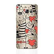 Недорогие Чехлы и кейсы для Galaxy S8-Кейс для Назначение SSamsung Galaxy S8 Plus S8 С узором Кейс на заднюю панель Кот Мягкий ТПУ для S8 Plus S8 S7 edge S7 S6 edge plus S6