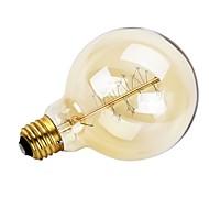 お買い得  -GMY® 1個 40W E26/E27 G95 温白色 2200 K レトロ風 調光可能 装飾用 白熱ビンテージエジソン電球 AC 220-240V V