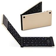 abordables Teclados para iPad-Bluetooth Mini Plegable Recargable por Android iOS Windows Bluetooth