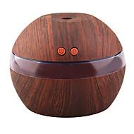 Недорогие Интеллектуальные огни-yk30s мини-портативный туман производителя аромат эфирное масло диффузор ультразвуковой аромат увлажнитель светлый деревянный рассеиватель