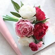 abordables Flores Artificiales-Flores Artificiales 1 Rama Estilo moderno / Ramos de Flores para Boda Peonías Flor de Mesa