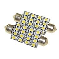 billiga -SENCART Glödlampor 1.5W SMD LED 16 innerbelysningen For Universell Alla år
