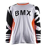 お買い得  -知恵はオートバイのクロスカントリージャージー自身のマウンテンバイクHDダウンヒルクロスカントリージャージーアウトドアスポーツ長袖Tシャツ