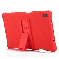 cheap Tablet Accessories-Case For Lenovo Lenovo Tab 4 8 Plus with Stand Back Cover Solid Colored / Striped / Pattern Soft Silicone for Lenovo Tab 4 8 Plus