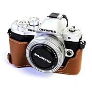 abordables Accesorios de Portátil-cuero dengpin media funda de la funda de la bolsa de la cámara para olympus e-m10 marca iii (colores surtidos)