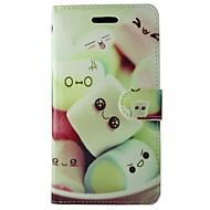 Недорогие Чехлы и кейсы для Galaxy S7-Кейс для Назначение Samsung Бумажник для карт Кошелек со стендом Флип Чехол Мультипликация Твердый Кожа PU для S7