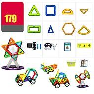 abordables Modelos y construcción de juguete-Bloques magnéticos Juguete Camión Avión Juguetes Redondo Cuadrado Guerrero Coche Arquitectura Vehículos Diseñado Especial Interacción