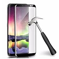 Недорогие Защитные плёнки для экранов Samsung-Защитная плёнка для экрана Samsung Galaxy для S9 Plus Закаленное стекло 1 ед. Защитная пленка для экрана 3D закругленные углы Против
