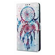 お買い得  携帯電話ケース-ケース 用途 OPPO R11 A57 カードホルダー ウォレット スタンド付き フリップ 磁石バックル パターン フルボディーケース ドリームキャッチャー ハード PUレザー のために Oppo R11 OPPO R9s OPPO A59 OPPO A57
