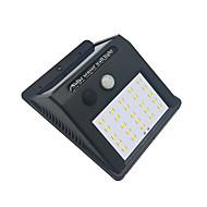 preiswerte LED Solarleuchten-BRELONG® 1pc 4 W LED Flutlichter Infrarot-Sensor / Lichtsteuerung Kühles Weiß <5 V Außenbeleuchtung 25 LED-Perlen