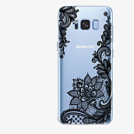 Case For Samsung Galaxy S8 Plus / S8 Pattern Back Cover Lace Printing Soft TPU for S8 Plus / S8 / S7 edge