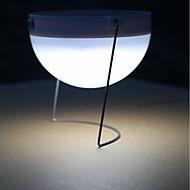 preiswerte LED Solarleuchten-1pc 3 W LED-Solarleuchten Wasserfest / Dekorativ / Lichtsteuerung Kühles Weiß <5 V Außenbeleuchtung 12 LED-Perlen