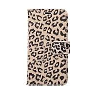 Недорогие Кейсы для iPhone 8-Кейс для Назначение Apple iPhone X / iPhone 8 Plus Бумажник для карт / со стендом Чехол Леопардовый принт Твердый Кожа PU для iPhone X / iPhone 8 Pluss / iPhone 8