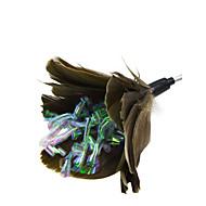 お買い得  -ティーザー 猫じゃらし スカーフ/リボン グロス 跳躍 スパークリング 減圧玩具 超軽量(UL) pp糸 ペーパー 羽毛 用途 猫用おもちゃ