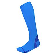 billige -Sportsokker Anti-skli sokker Sykkel/Sykling Kompresjonsstrømper Unisex Camping & Fjellvandring Sykling / Sykkel Langrenn Triatlon Løp