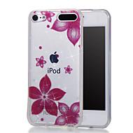 preiswerte iPod-Hüllen / Cover-Hülle Für iTouch 5/6 mit Halterung / IMD / Muster Ganzkörper-Gehäuse Hart