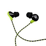 お買い得  -PHB P8 耳の中 ケーブル ヘッドホン 動的 プラスチック プロオーディオ イヤホン マイク付き / ボリュームコントロール付き ヘッドセット
