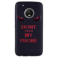 preiswerte Handyhüllen-Hülle Für Motorola G5 Plus G5 Muster Rückseite Wort / Satz Weich Silikon für Moto G5 plus Moto G5 Moto G4 plus Moto G4 Play Moto E4 Plus