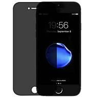 Недорогие Защитные плёнки для экранов iPhone 8-Защитная плёнка для экрана Apple для iPhone 8 Закаленное стекло 2 штs Защитная пленка на всё устройство Anti-Spy Уровень защиты 9H