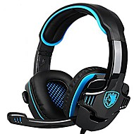 billige -sades 708gt gaming headset med mikrofon for PC-PC-spiller