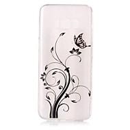 Недорогие Чехлы и кейсы для Galaxy S-Кейс для Назначение SSamsung Galaxy S8 Plus S8 Ультратонкий С узором Кейс на заднюю панель Бабочка Мягкий ТПУ для S8 Plus S8 S7 edge S7
