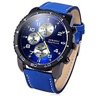 abordables 50% de DESCUENTO y Más-JUBAOLI Hombre Reloj de Pulsera Chino Cool / Esfera Grande Acero Inoxidable Banda Negro / Azul / Rojo