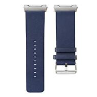 時計バンド のために Fitbit ionic Fitbit リストストラップ モダンバックル レザー