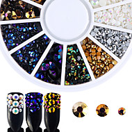 cheap Makeup & Nail Care-Rhinestones Nail Jewelry Nail Glitter Fashionable Jewelry Luxury Accessories Fashion High Quality Daily Nail Art Design
