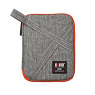 billige Mac-etuier, Mac-tasker og Mac-covers-Opbevaringstaske for Ensfarvet Nylon Batteribank