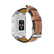 Недорогие Аксессуары для смарт часов-Ремешок для часов для Fitbit ionic Fitbit Повязка на запястье Классическая застежка Натуральная кожа