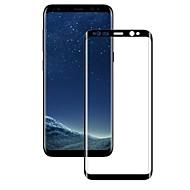 Недорогие Защитные плёнки для экранов Samsung-Защитная плёнка для экрана Samsung Galaxy для S9 Закаленное стекло 1 ед. Защитная пленка на всё устройство 3D закругленные углы Против