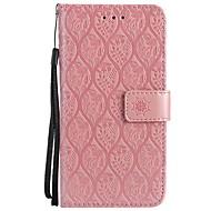 billiga iPhone 8 Plus och Plus-fodral-fodral Till Apple iPhone X iPhone 8 Korthållare Plånbok med stativ Lucka Läderplastik Fodral Blomma Hårt PU läder för iPhone X iPhone 8