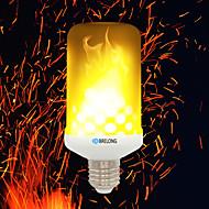 お買い得  -BRELONG® 1個 4W 700lm E14 E27 B22 LEDコーン型電球 99 LEDビーズ SMD 2835 炎効果 温白色 85-265V