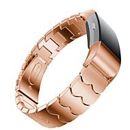Недорогие Аксессуары для смарт-часов-Ремешок для часов для Fitbit Charge 2 Fitbit Современная застежка Металл Нержавеющая сталь Повязка на запястье