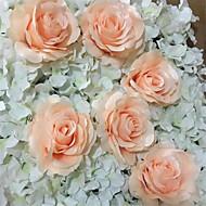 abordables Flores Artificiales-Flores Artificiales 10 Rama Estilo moderno Rosas Flor de Mesa