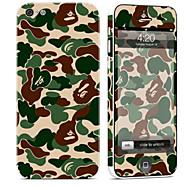 Недорогие Защитные плёнки для экрана iPhone-1 ед. Наклейки для Защита от царапин Камуфляж Узор PVC iPhone 5c