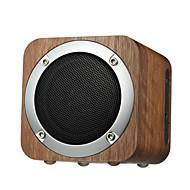 cheap Speakers-IXB-B06 Bluetooth Speaker Bluetooth 4.0 3.5mm AUX TF Card Slot Bookshelf Speaker Subwoofer Brown