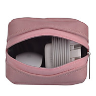 お買い得  MacBook 用ケース/バッグ/スリーブ-アクセサリー収納バッグ ソリッド PUレザー のために 電源 / フラッシュドライブ / ハードドライブ