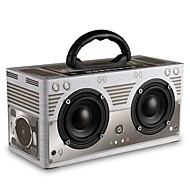 abordables Altavoces-W9 Bocina Bluetooth Bluetooth 4.0 Audio (3.5mm) 3.5mm AUX Altavoz de Estantería Gris