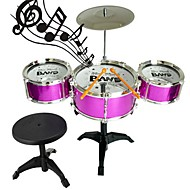 cheap Toys & Hobbies-Toy Instruments Toys Drum kit Plastics 1 Pieces Kid's Gift