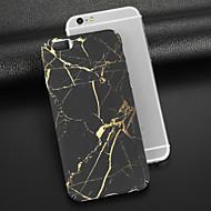 Недорогие Кейсы для iPhone 8 Plus-Кейс для Назначение Apple iPhone X iPhone 8 Матовое С узором Кейс на заднюю панель Мрамор Твердый ПК для iPhone X iPhone 8 Pluss iPhone 8