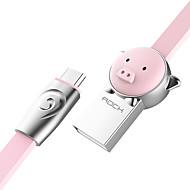 お買い得  -マイクロUSB USBケーブルアダプタ クイックチャージ ケーブル 用途 Samsung Huawei LG Nokia Lenovo Motorola Xiaomi HTC Sony 100 cm 亜鉛合金