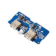 お買い得  Arduino 用アクセサリー-18650バッテリー3.7v転送5v2aブースターモジュール