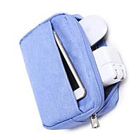 お買い得  MacBook 用ケース/バッグ/スリーブ-アクセサリー収納バッグ ソリッド オックスフォード のために 電源 / フラッシュドライブ / ハードドライブ