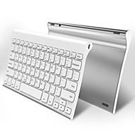 abordables Teclados para iPad-Bluetooth teclado ergonómico Recargable por iOS Bluetooth