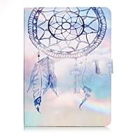 Недорогие Чехлы и кейсы для Samsung Tab-Кейс для Назначение SSamsung Galaxy Tab S2 9.7 Бумажник для карт Кошелек со стендом С узором Авто Режим сна / Пробуждение Чехол Ловец снов