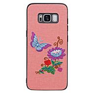 Недорогие Чехлы и кейсы для Galaxy S8-Кейс для Назначение Samsung S8 Plus S8 С узором Кейс на заднюю панель Бабочка Пейзаж Цветы Мягкий ТПУ для S8 Plus S8