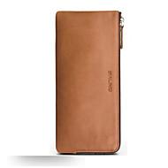 Недорогие Чехлы и кейсы для Huawei Honor-Кейс для Назначение Huawei Mate 9 Mate 8 Бумажник для карт Защита от удара Чехол Сплошной цвет Мягкий Настоящая кожа для Honor 8 Huawei