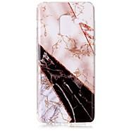 Недорогие Чехлы и кейсы для Galaxy А-Кейс для Назначение SSamsung Galaxy A8 2018 IMD С узором Кейс на заднюю панель Мрамор Сияние и блеск Мягкий ТПУ для A8 2018